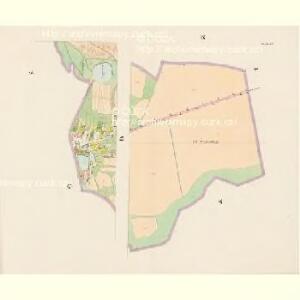Brzillitz - c0612-1-006 - Kaiserpflichtexemplar der Landkarten des stabilen Katasters