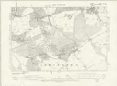 Surrey XIV.SE - OS Six-Inch Map