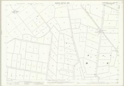 Cambridgeshire XXV.5 (includes: Chatteris; Mepal; Sutton) - 25 Inch Map
