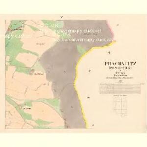 Prachatitz (Prachatice) - c6076-1-005 - Kaiserpflichtexemplar der Landkarten des stabilen Katasters