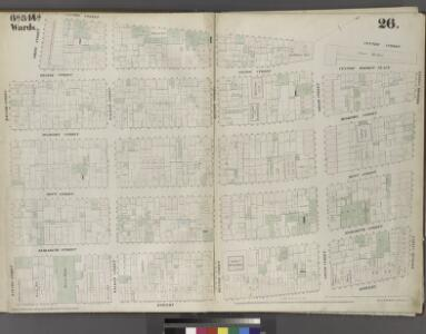 Plate 26: Map bounded by Broome Street, Bowery, Bayard Street, Orange Street, White Street, Centre Street.