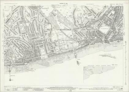 Sussex LXXI.2 & 5 (includes: Hastings) - 25 Inch Map