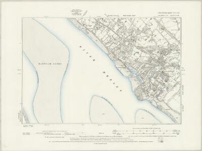 Lancashire CXIII.SW - OS Six-Inch Map