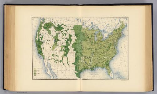 129. Size of farms 1900.