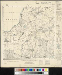 Meßtischblatt 371, neue Nr. 1643 : Niepars, 1936