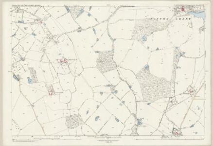 Staffordshire XXXVI.11 (includes: Ellenhall; Gnosall; Ranton) - 25 Inch Map