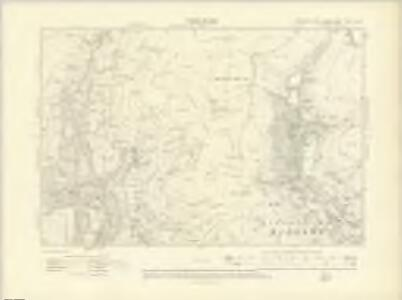 Yorkshire CCXV.SW - OS Six-Inch Map