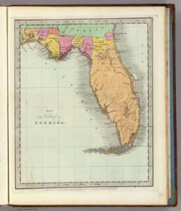 Map of the Territory of Florida.