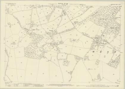 Berkshire XLII.9 (includes: Inkpen; West Woodhay) - 25 Inch Map
