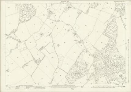 Hertfordshire XX.6 (includes: Codicote; Knebworth; Langley; St Pauls Walden) - 25 Inch Map