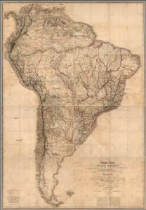 Sheets 1-8.  South America.