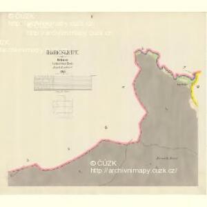 Hohenleipe - c8948-1-001 - Kaiserpflichtexemplar der Landkarten des stabilen Katasters