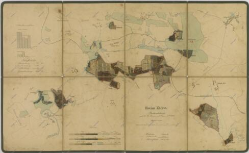 Porostní mapa polesí Zborov 1