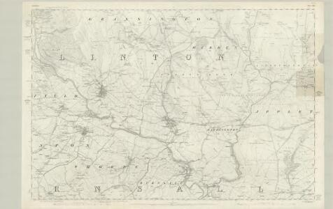 Yorkshire 134 - OS Six-Inch Map