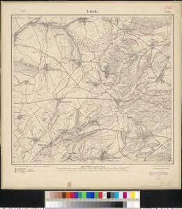 Meßtischblatt 3554 : Lubeln, 1916