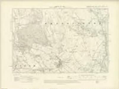 Yorkshire CXXXIV.NW - OS Six-Inch Map