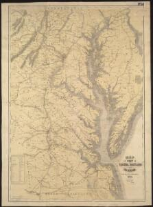 Map of part of Virginia, Maryland and Delaware from the best authorities