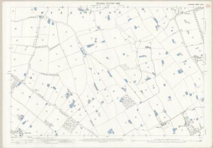 Cheshire XXX.4 (includes: Burton; Ellesmere Port; Ness; Puddington; Willaston) - 25 Inch Map