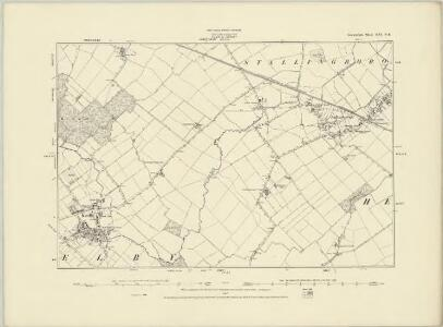 Lincolnshire XXI.NW - OS Six-Inch Map