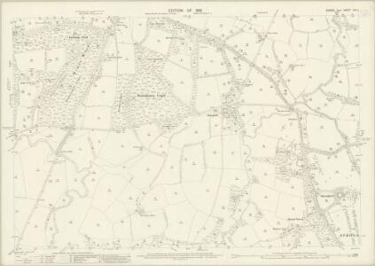 Sussex XIII.2 (includes: Rudgwick; Slinfold; Warnham) - 25 Inch Map