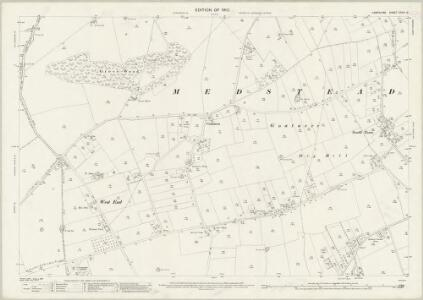 Hampshire and Isle of Wight XXXIV.16 (includes: Bighton; Medstead; Old Alresford) - 25 Inch Map