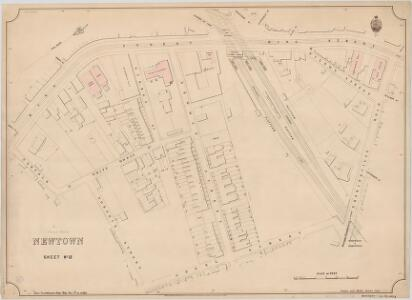 Newtown, Sheet 13, 2nd ed. 1895