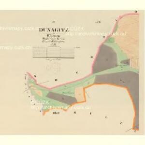 Dunagitz - c1608-1-004 - Kaiserpflichtexemplar der Landkarten des stabilen Katasters
