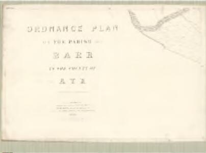 Ayr, Sheet LXII.9 (Barr) - OS 25 Inch map