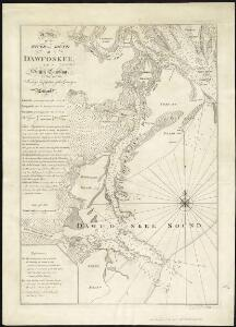 A plan of the river and sound of D'Awfoskee in South Carolina