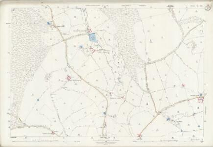 Wiltshire LVII.1 (includes: Horningsham; Maiden Bradley with Yarnfield) - 25 Inch Map