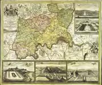 Accurater Grundriss u: Gegend der kœnigl: gross-brittannischen Haupt und Residentz-Stadt London