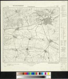 Messtischblatt 2601, neue Nr. 4533 : Sangerhausen, 1936 Sangerhausen