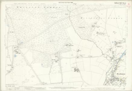 Sussex XLVII.14 (includes: Havant; Rowlands Castle; Stoughton; Westbourne) - 25 Inch Map