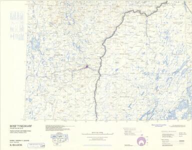 Statistikk 43-28- Bosettingskart over Karasjok. Blad 28