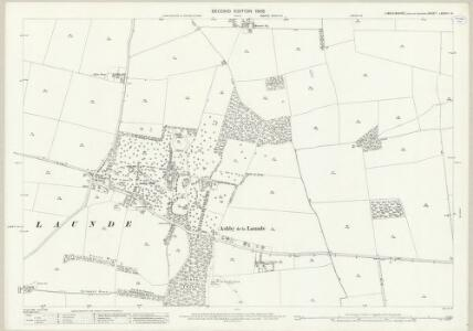Lincolnshire LXXXVII.14 (includes: Ashby De La Launde and Bloxholm; Digby; Rowston) - 25 Inch Map