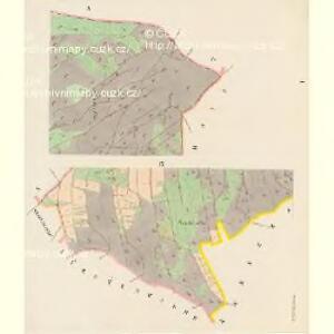 Kaiserwalde - c0761-2-001 - Kaiserpflichtexemplar der Landkarten des stabilen Katasters