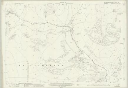 Gloucestershire LXXVII.8 (includes: Cold Ashton; Marshfield; St Catherine) - 25 Inch Map