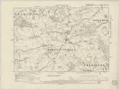 Worcestershire XXVI.NW - OS Six-Inch Map