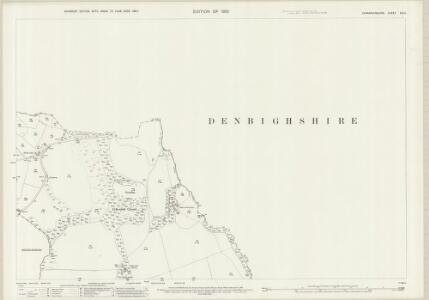 Caernarvonshire XIV.11 (includes: Eglwysfach; Llangernyw; Llanrwst Rural; Maenan) - 25 Inch Map