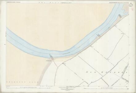 Gloucestershire XL.14 (includes: Frampton on Severn; Slimbridge) - 25 Inch Map