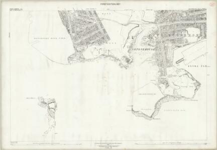 Devon CXXIII.11 (includes: Devonport; East Stonehouse; Maker With Rame; Plymouth) - 25 Inch Map