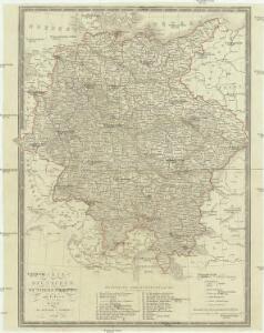 Karte der Deutschen Bundesstaaten