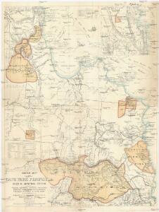 Sketch map of Cape York peninsula