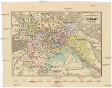 Grundriss von Berlin