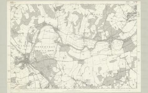 Berkshire XXIII - OS Six-Inch Map
