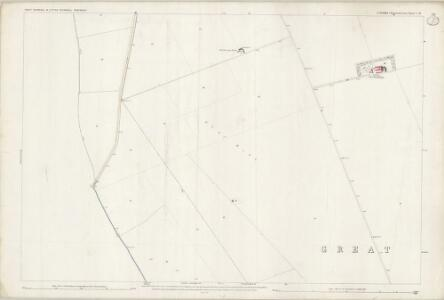 Essex (1st Ed/Rev 1862-96) I.16 (includes: Barley; Great Chishill; Little Chishill) - 25 Inch Map