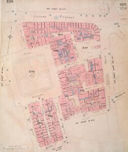 Insurance Plan of London Vol. IX: sheet 225