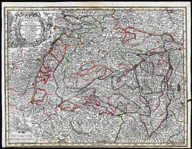 Circulus Suevicus in quo Ducatus Wirtenbergensis cum reliquis Statibus Et Provinciis curate designatus proponitur