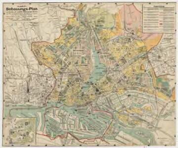 H. Carly's Bebauungs-Plan von Hamburg und sämtlichen Hamburgischen Vororten : nebst Plan von Altona-Ottensen, Wandsbeck und Umgebung sowie Plan von Hagenbecks Tierpark