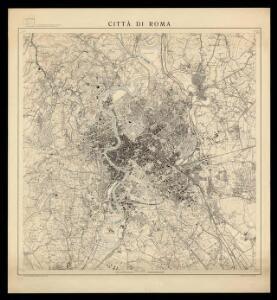 Città di Roma: Roma nel 1950 / Istituto Geografico Militare